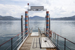 Maggiore lake landscape in Italy Stock Images