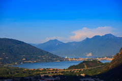 Maggiore Lake Royalty Free Stock Images