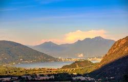 Maggiore Lake Stock Photo