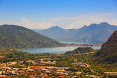 Maggiore Lake Stock Images