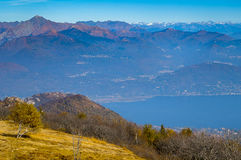 Maggiore lake view Royalty Free Stock Photo