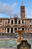 maggiore Maria Rome Santa obraz stock