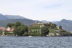 maggiore piedmont för bellaisolaitaly lake Arkivfoto