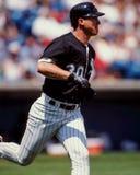 Magglio Ordonez, les White Sox de Chicago Images libres de droits