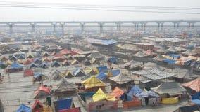 Magh Mela en Allahabad Imagen de archivo libre de regalías