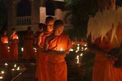 Magha puja day Stock Image