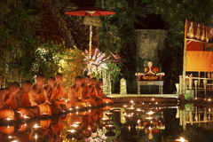 Magha Puja Tag Lizenzfreies Stockbild
