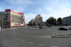 Magheru boulevard in Bucharest Stock Photos