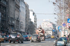 Magheru boulevard view Stock Photography