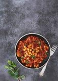 Maghmour, очень вкусное ливанское moussaka vegan Стоковое Фото