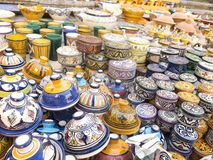 Maghreb ceramic Royalty Free Stock Images