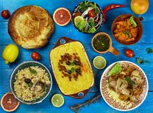 Maghreb cuisine Stock Photos