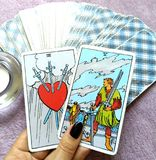 Magi för spådom för tarokkort ockult royaltyfria foton