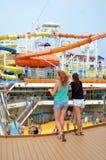 Magi för karnevalCruis skepp Fotografering för Bildbyråer