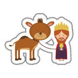 Magi icon image Royalty Free Stock Image