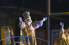 Magi Kings celebration in Spain Stock Image