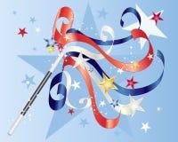 Magia americana Illustrazione Vettoriale