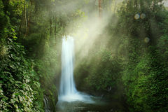 Magia Blanca waterfall in Costa Rica Royalty Free Stock Image