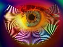 Magia de colores ilustración del vector
