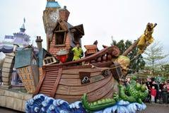 Magia de Disney en desfile. Fotografía de archivo libre de regalías