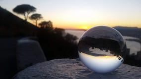 Magia de la bola de cristal Imagenes de archivo