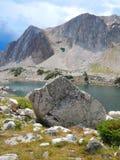 Magia de la montaña en el arco Wyoming de la medicina imágenes de archivo libres de regalías