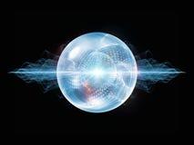 Magia de la partícula de la onda Fotos de archivo libres de regalías