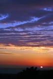 Magia de la puesta del sol Fotos de archivo