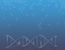 Magia de la salud de la DNA Fotografía de archivo libre de regalías