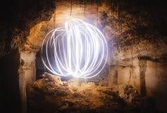 Magia dei torrioni di Odessa Catacombe di Odessa fotografie stock