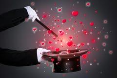 Magia del amor fotografía de archivo libre de regalías