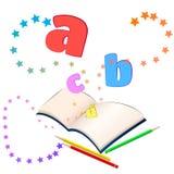Magia del aprendizaje Imágenes de archivo libres de regalías