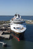 Magia del barco de cruceros foto de archivo libre de regalías
