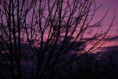Magia del cielo di colore fotografia stock libera da diritti