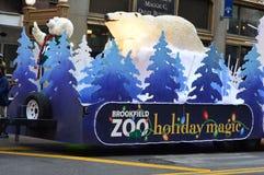Magia del día de fiesta del parque zoológico de Brookfield Imagenes de archivo