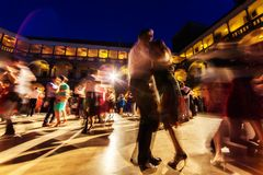 Magia del Tango 01. Magic Tango Milonga 01 royalty free stock photography