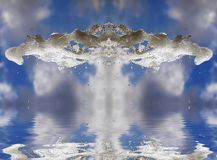 Magia di acqua Fotografie Stock Libere da Diritti