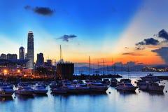 Magia di tramonto Fotografia Stock Libera da Diritti