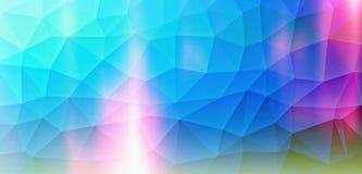 Magia grafica del blu del fondo Immagine Stock