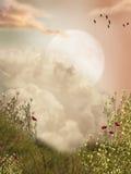 Magia krajobraz Zdjęcie Royalty Free