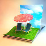 magia księgowa Zdjęcie Royalty Free