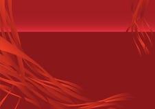 Magia rossa Fotografie Stock