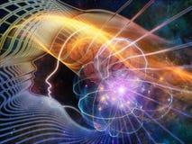 Magia umysł ilustracja wektor