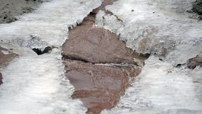 Magia zima Roztapiający lód zbiory