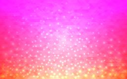Magic abstract background. Blurred gradient with bright lights. Modern design for web or poster. Vector illustration.  stock illustration