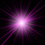 Magic abstract background in a bright purple color Stock Photo