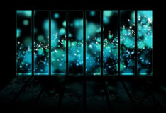 Magic abstract background. For design Vector Illustration