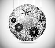 Magic abstract sphere Stock Photos