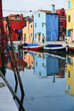 View of Burano Royalty Free Stock Photos