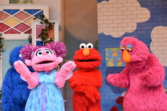 The Magic of Art show at Sesame Place. In Langhorne, Pennsylvania Royalty Free Stock Images